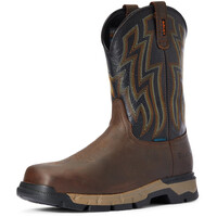 Ariat Mens Rebar Flex Western H2O Boots (10034158) Dark Brown/Black