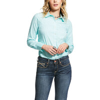 Ariat Womens Kirby Stretch L/S Shirt (10031872) Creed Yucca