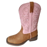 Roper Childrens Annie Boot (18192600) Tan/Pink [SD]