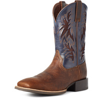 Ariat Mens Sport Cool VentTEK Boots (10035928) Bar Top Brown/Arizona Skye