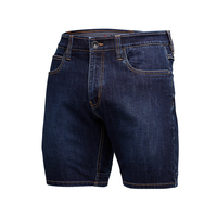 KingGee Mens Urban Coolmax Denim Shorts (K17010)