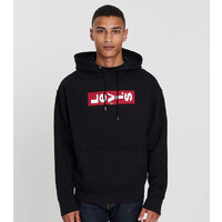 Levi's Mens Relaxed Graphic Oversized Hoodie (72632-0004)