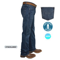 Pure Western Mens Heath Slim Straight Jeans (P8W1200159)