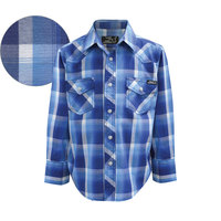 Pure Western Boys Richie Check L/S Shirt (P8W3100139)     [SD]