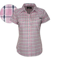 Pure Western Womens Scout Check S/S Shirt (P8S2105193)