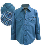 Pure Western Boys Wylie Print L/S Shirt (P8S3100198)  [SD]