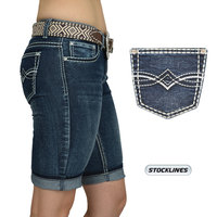 Pure Western Womens Lana Shorts (PCP2306209) Midnight
