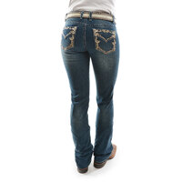 Pure Western Womens Carolina Relaxed Rider Jeans (PCP2210219)