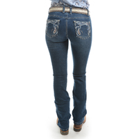 Pure Western Womens Elora Bootcut Jeans (PCP2208242) Twilight