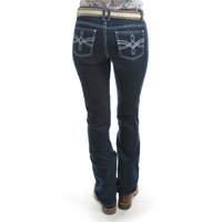 Pure Western Womens Stella Bootcut Jeans (PCP2208243)