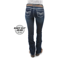 Pure Western Womens Hannah Boot Cut Jeans (PCP2211119) Midnight