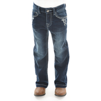 Pure Western Girls Rosie Bootcut Jeans (PCP5201315) Dark Night