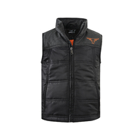 Pure Western Boys Usher Puffer Vest (P1W3603404) Charcoal/Black