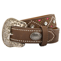 Pure Western Girls Selby Belt (P1W5958BLT) Tan