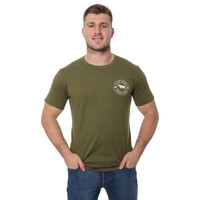 Ringers Western Mens Carson River Classic T-Shirt (118101003) Army Green