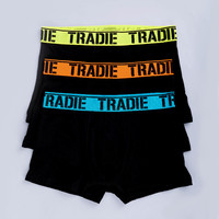 Tradie Mens 3pack Trunk (MJ1194WK3)