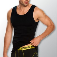 Tradie Mens Cotton Singlet (MJ1082HC)