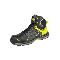 Puma Mens Track Safety Shoe (633887) Black/Yellow [SD]