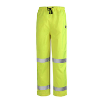 Rainbird Mens Hi Vis Utility Pants with Tape (8271) Yellow