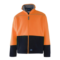 Rainbird Hi Vis Lumber Jacket (8471) Orange/Navy