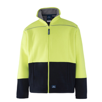 Rainbird Hi Vis Lumber Jacket (8471) Yellow/Navy