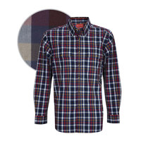 Thomas Cook Mens Buchanan Check 2 Pocket L/S Shirt (T8W1115005)