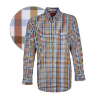 Thomas Cook Mens Tarrabool Check 2 Pocket L/S Shirt (T8W1115011)