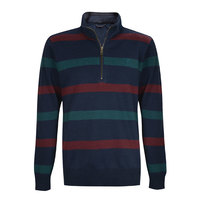Thomas Cook Mens Ian Stripe Merino Blend Rugby (T8W1523091)    [SD]