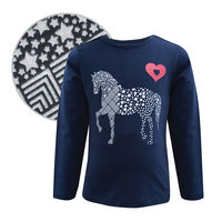 Thomas Cook Girls Glitter Horse L/S Top (T8W5501033)