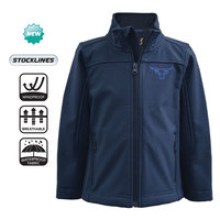 Pure Western Boys Soft Shell Jacket (PCP3700214) Ink