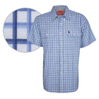 Thomas Cook Mens Finn Check 2 Pocket S/S Shirt (T8S1110004)