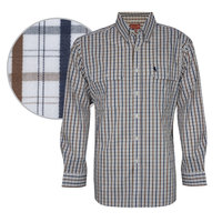 Thomas Cook Mens Mac Check 2 Pocket L/S Shirt (T8S1115006)