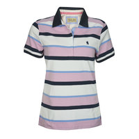 Thomas Cook Womens Belle Stripe S/S Polo (T8S2518048)  [SD]