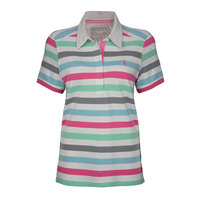 Thomas Cook Womens Gem Stripe S/S Polo (T8S2518055)