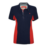 Thomas Cook Womens Bev Panel S/S Polo (T8S2519059)