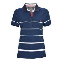 Thomas Cook Womens Jade Stripe S/S Polo (T8S2523054)  [SD]