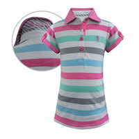 Thomas Cook Girls Gem Stripe S/S Polo (T8S5510055)  [SD]
