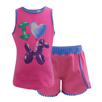 Thomas Cook Girls Balloon Horse Pjs (T8S5921PJS)  [SD]