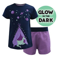 Thomas Cook Girls Glow In The Dark Horse Pjs (T8S5922PJS)  [SD]
