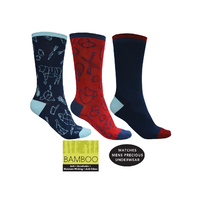 Thomas Cook 3 Pack Bamboo Socks (TCP1999SOC)