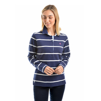 Thomas Cook Womens Gillian Stripe Rugby (T9W2506025) _W19