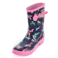Thomas Cook Girls Circus Horse Gumboots (T9W58022) _W19