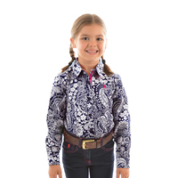 Thomas Cook Girls Kelly L/S Shirt (T9S5109045) Navy _S19 [SD]
