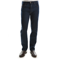 Thomas Cook Mens Tailored Fit Ashley Denim Jeans (TCP1211090) Mid Indigo _S19