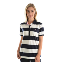 Thomas Cook Womens Rachel Stripe S/S Polo (TCP2501053)