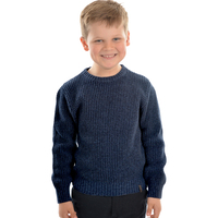 Thomas Cook Boys Station Crew Neck Knit Jumper (T0W3518035) Navy Marle _W20