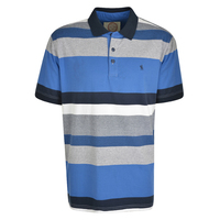 Thomas Cook Mens Mackay Polo (T0S1502028) Grey Marle/Royal