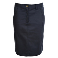 Thomas Cook Womens Classic Chino Skirt (T0S2402073) Dark Navy