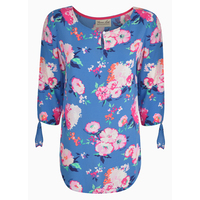 Thomas Cook Womens Longreach 3/4 Sleeve Top (T0S2547055) Floral
