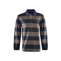 Thomas Cook Mens Dean Stripe Rugby (T1W1503020) Navy/Tan